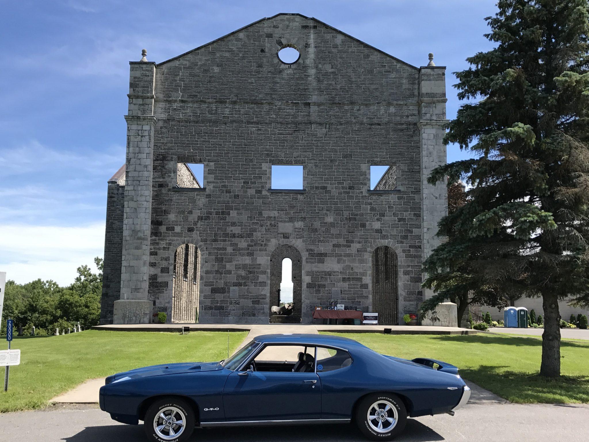 1969 Pontiac GTO St. Raphael's Ruins