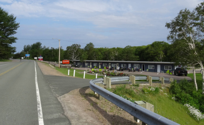 A photo of the Cornerstone Motel in Cheticamp, NS