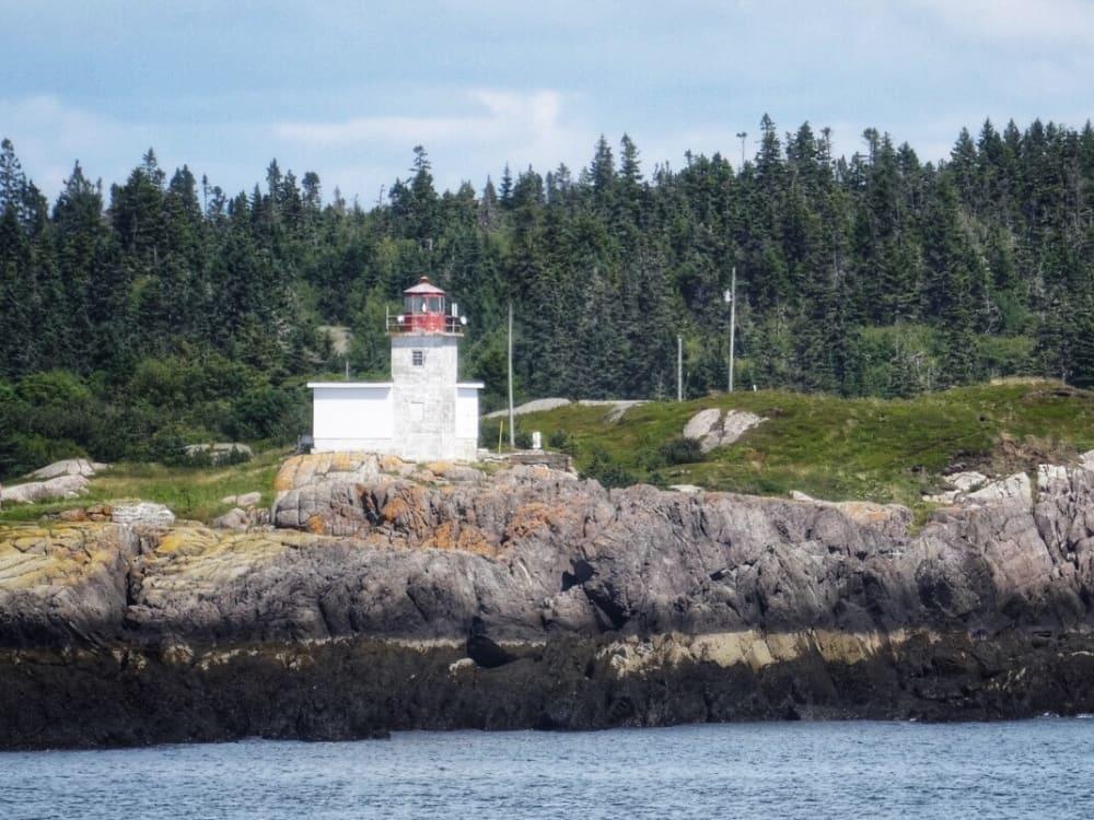 The Pea Point lighthouse, Blacks Harbour New Brunswick