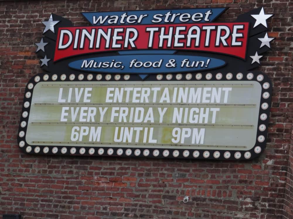The Water Street Dinner Theater in Saint John New Brunswick