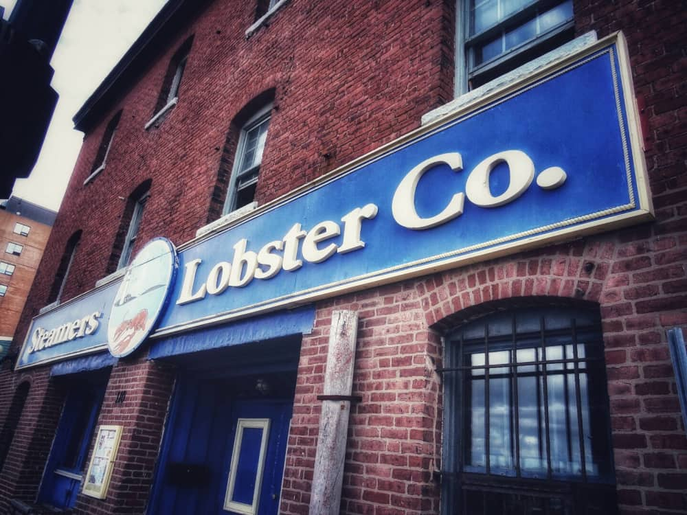 Sreamers Lobster Company in Saint John New Brunswick