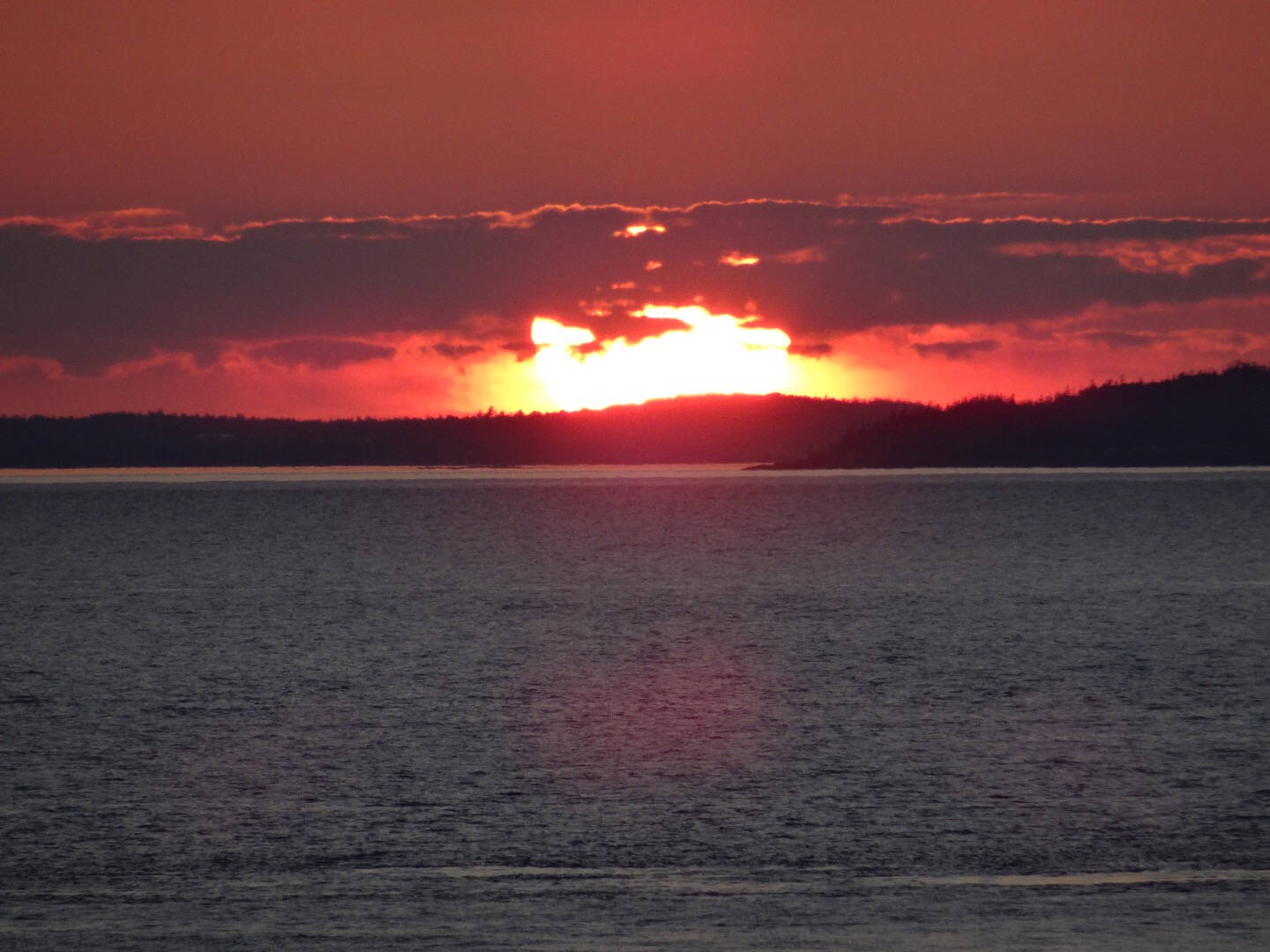 Sunset at North Head, Grand Manan Island