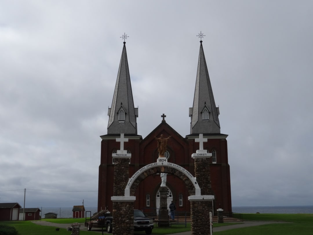 The cathedral at Mt. Carmel PEI