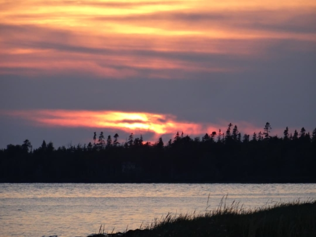 Sunset at Linkletter Provincial Park PEI